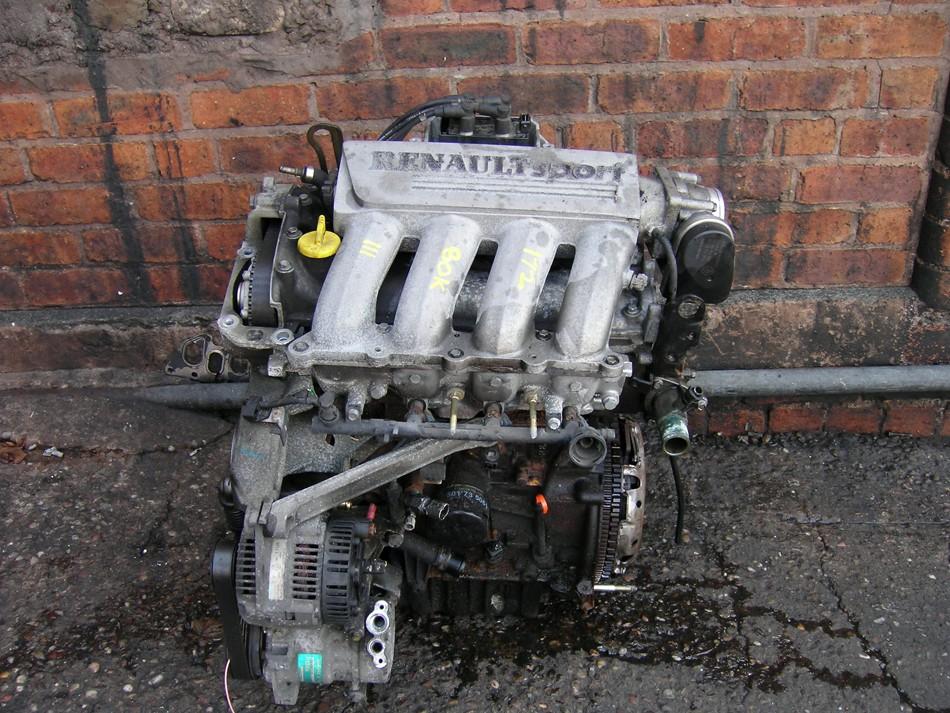 Renault Clio Engines 2.0 16 Valve