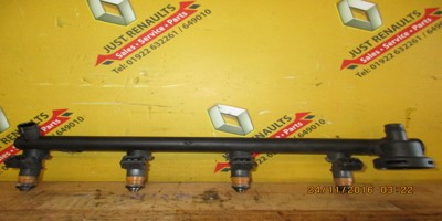 Scenic 1.6 16valve 2001-2003 Injectors And Fuel Rail