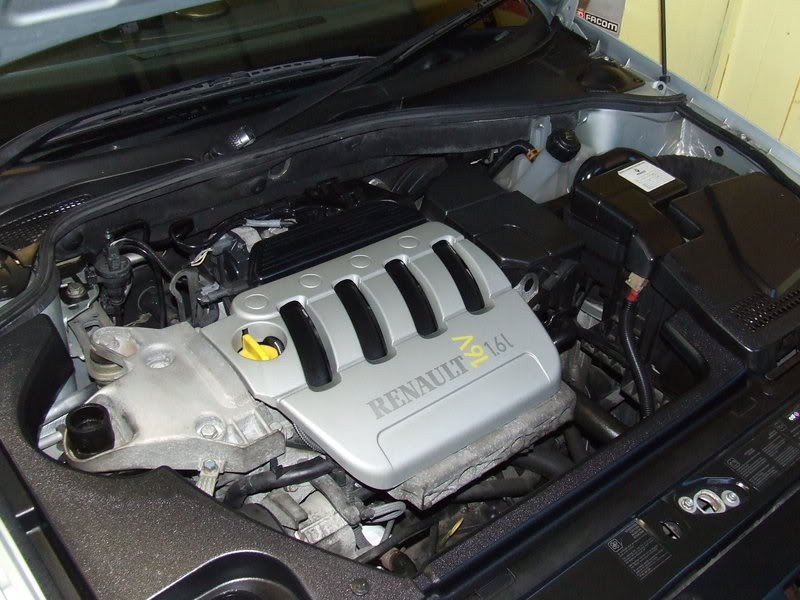 Renault Megane Engines 1.6 16 Valve With Vvt Starter At Back Manual