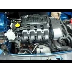 Renault Clio Engines 1.2 8 Valve